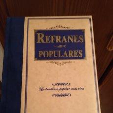 Libros: REFRANES POPULARES - ED LIBSA. Lote 277091918