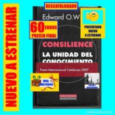 Libros: CONSILIENCE - LA UNIDAD DEL CONOCIMIENTO - EDWARD O. WILSON - PRECINTADO NUEVO A ESTRENAR 60€ FINAL. Lote 277272833