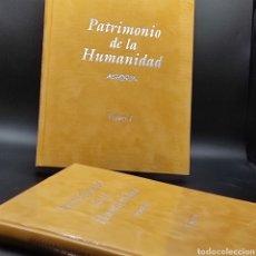 Libros: PATRIMONIO DE LA HUMANIDAD. 2 TOMOS DE 31X25CMS. EJEMPLAR 1.357 DE UNA SERIE DE 3.000 EJEMPLARES.. Lote 279569978