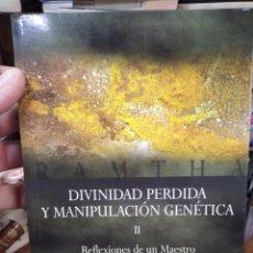 Livros: DIVINIDAD PERDIDA Y MANIPULACIÓN GENETICA/REFLEXIONES DE UN MAESTRO, TOMÓ SEGUNDO-RAMTHA-2004. Lote 286507048