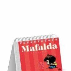 Libros: CALENDARIO 2022 MAFALDA ESCRITORIO ROJO. Lote 289209603