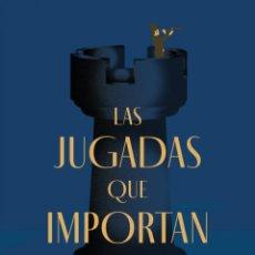 Libros: LAS JUGADAS QUE IMPORTAN.JONATHAN ROWSON.-NUEVO. Lote 289709938