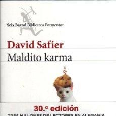 Libros: MALDITO KARMA DE DAVID SAFIER - SEIX BARRAL, 2009. Lote 34705893