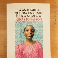 Libros: LA ANALFABETA QUE ERA UN GENIO DE LOS NUMEROS. Lote 53600592