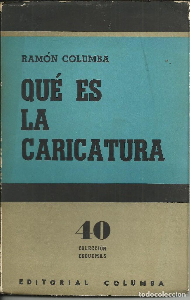 QUÉ ES LA CARICATURA (Libros Nuevos - Literatura - Narrativa - Humor)
