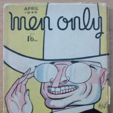 Libros: MEN ONLY. VOL. 37. NO 148. ABRIL 1948. Lote 116956199