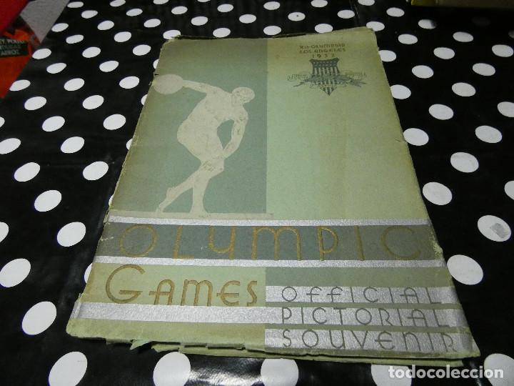 LIBRO EN INGLES OFFICIAL PICTORIAL SOUVENIR OLYMPIC GAMES 1932 LOS ANGELES (Libros Nuevos - Literatura - Narrativa - Humor)