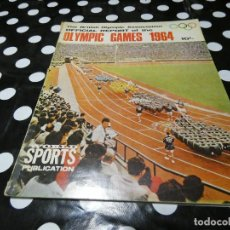 Libros: WORLD SPORTS PUBLICATION OFFICIAL REPOFRT OF THE 1964 OLYMPIC GAMES EN INGLES . Lote 117646995