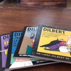 Libros: LOTE DE 4 LIBROS DE DILBERT. Lote 118052506