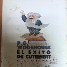 Libros: EL EXITO DE CUTHBERT. P. G. WODEHOUSE. Lote 132690342