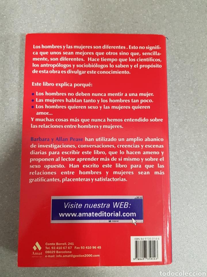 Libros: POR QUÉ LOS HOMBRES NO ESCUCHAN Y LAS MUJERES NO ENTIENDEN LOS MAPAS - Foto 2 - 133492378