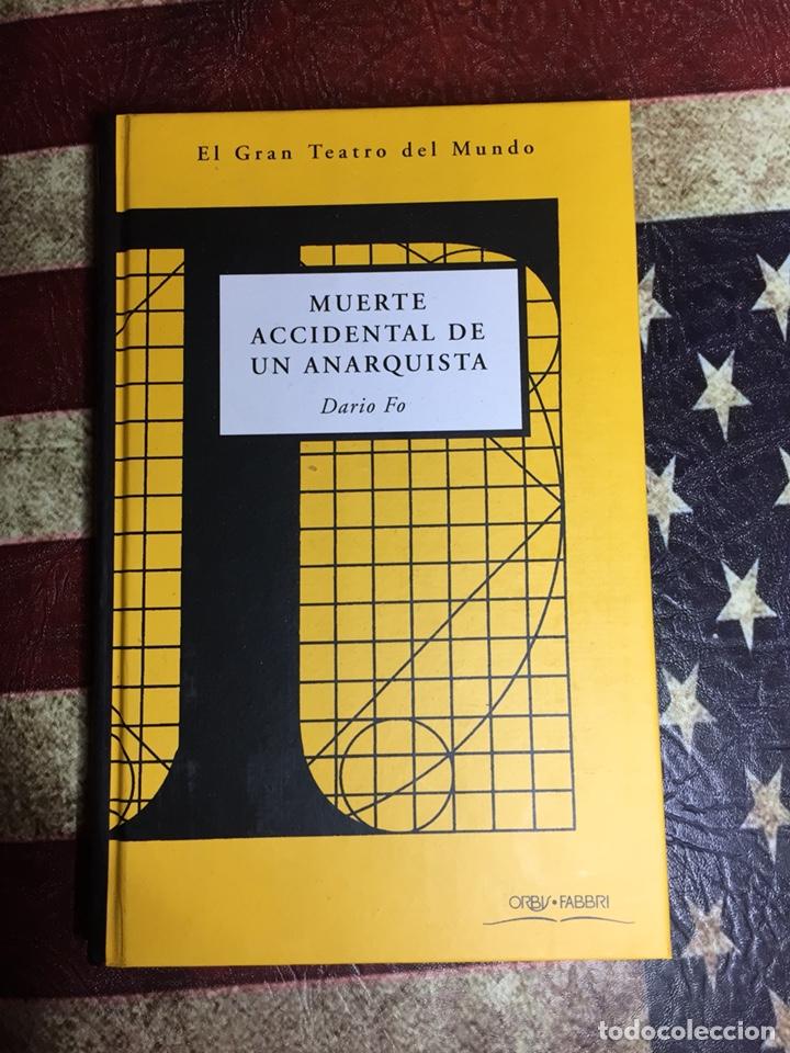 MUERTE ACCIDENTAL DE UN ANARQUISTA (Libros Nuevos - Literatura - Narrativa - Humor)