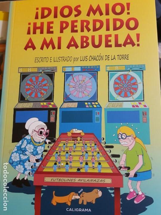 ¡DIOS MIO! ¡HE PERDIDO A MI ABUELA! (CUENTO INFANTIL ILUSTRADO) (Libros Nuevos - Literatura - Narrativa - Humor)