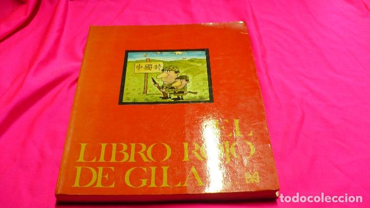 EL LIBRO ROJO DE GILA, EDICIONES 99, 1974. (Libros Nuevos - Literatura - Narrativa - Humor)
