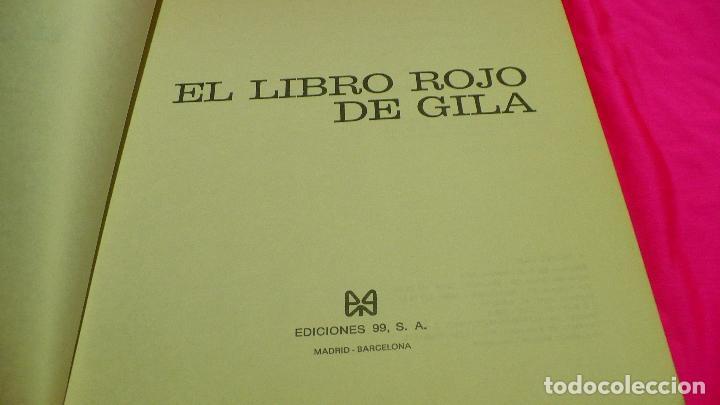 Libros: el libro rojo de gila, ediciones 99, 1974. - Foto 5 - 155880670