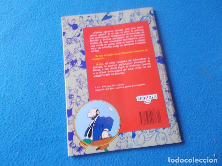 Libros: DONDE ESTA ROLDAN ? EDICIONES TEMAS DE HOY ( GOMAESPUMA ) 1995 - Foto 2 - 158617846