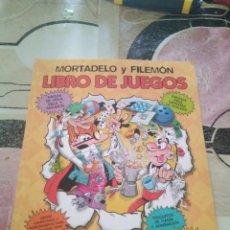 Libros: MORTADELO Y FILEMÓN LIBRO DE JUEGO EDICIONES B GROPO ZETA Z. Lote 169166536