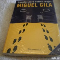 Libros: LIBRO MIGUEL GILA CUENTOS PARA DORMIR MEJOR. Lote 169642504
