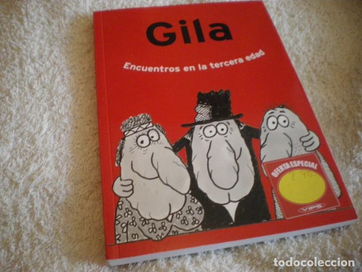 LIBRO MIGUEL GILA ENCUENTROS EN LA TERCERA EDAD (Libros Nuevos - Literatura - Narrativa - Humor)