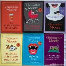 Libros: COLECCIÓN CHRISTOPHER MOORE. Lote 208328638