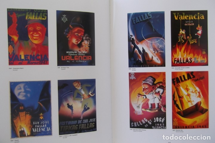 Libros: # LOS CARTELES DE LAS FALLAS EN VALENCIA , AÑOS 1929- 1999 # - Foto 11 - 173199197