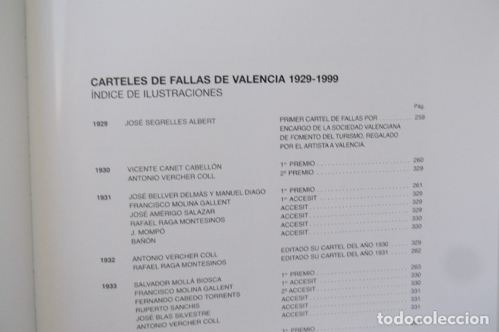 Libros: # LOS CARTELES DE LAS FALLAS EN VALENCIA , AÑOS 1929- 1999 # - Foto 13 - 173199197