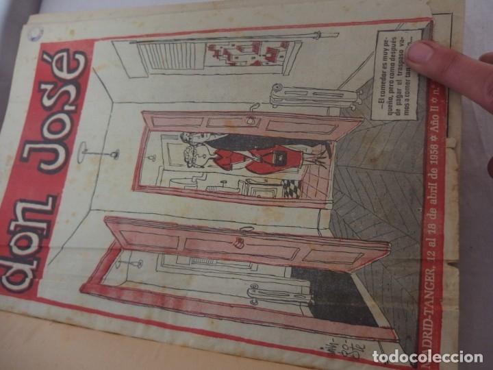 Libros: TOMO ENCUADERNADO- REVISTA D. JOSÉ 1956 - Foto 2 - 176925609