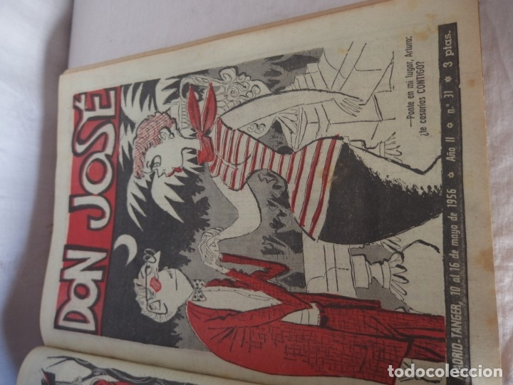 Libros: TOMO ENCUADERNADO- REVISTA D. JOSÉ 1956 - Foto 3 - 176925609