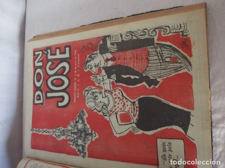 Libros: TOMO ENCUADERNADO- REVISTA D. JOSÉ 1956 - Foto 4 - 176925609