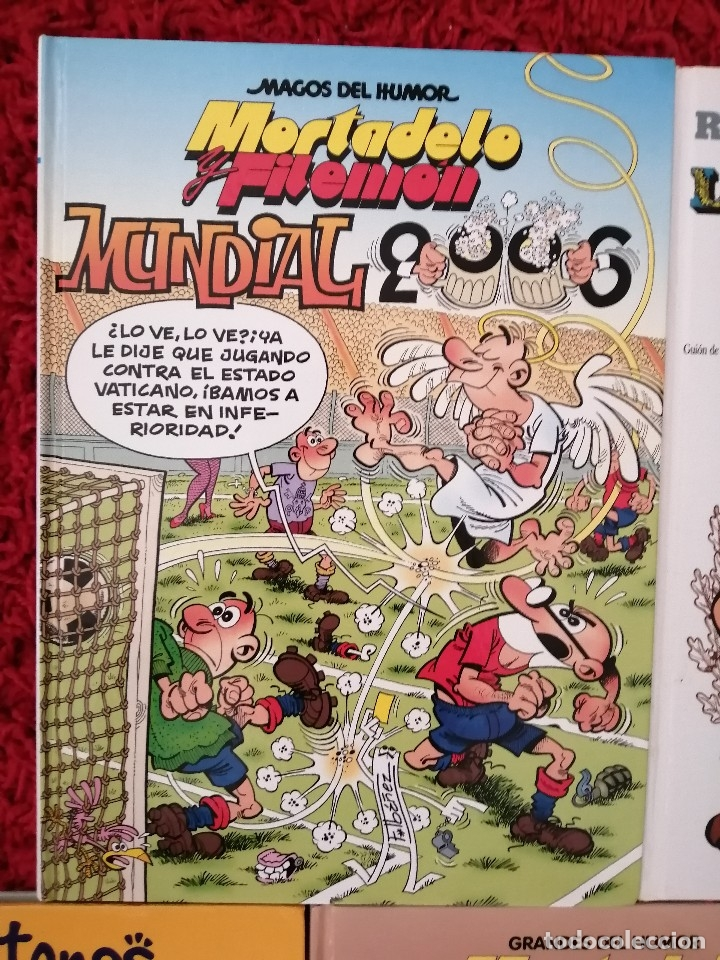 Libros: Cinco cómics con Astérix y Mortadelo y Filemon - Foto 3 - 176977179
