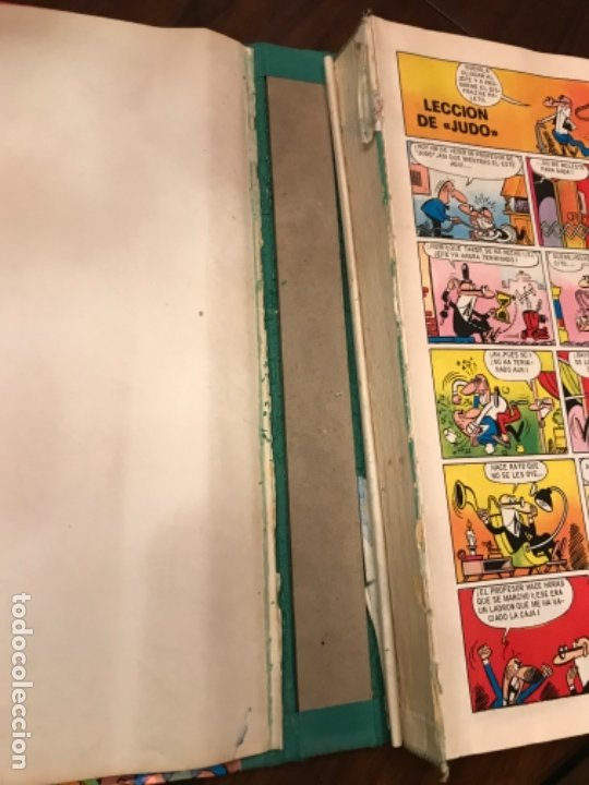 Libros: Tebeo Magos del Humor 1973 Editorial Bruguera Vol XIV Zipi y zape Mortadelo filemón Sir Tim O Theo - Foto 3 - 181216750