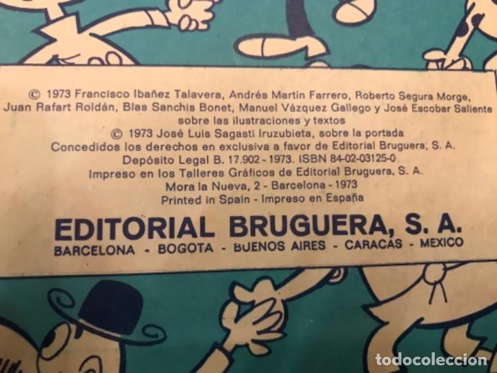 Libros: Tebeo Magos del Humor 1973 Editorial Bruguera Vol XIV Zipi y zape Mortadelo filemón Sir Tim O Theo - Foto 11 - 181216750