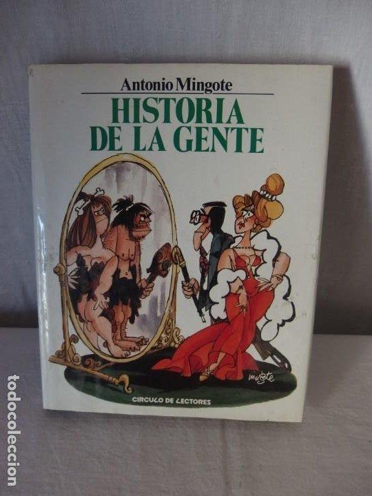 HISTORIA DE LA GENTE, ANT. MINGOTE, 1984 (Libros Nuevos - Literatura - Narrativa - Humor)