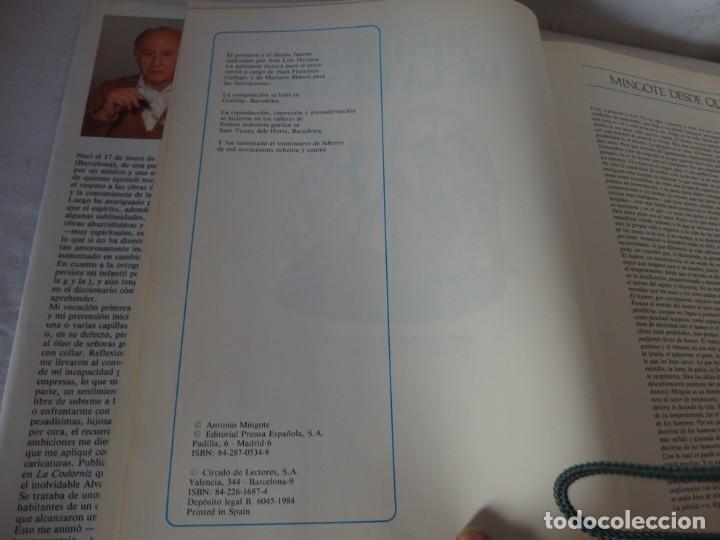 Libros: HISTORIA DE LA GENTE, Ant. Mingote, 1984 - Foto 3 - 190025548