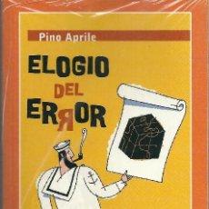 Libros: LIBRO ELOGIO DEL ERROR. Lote 197585743