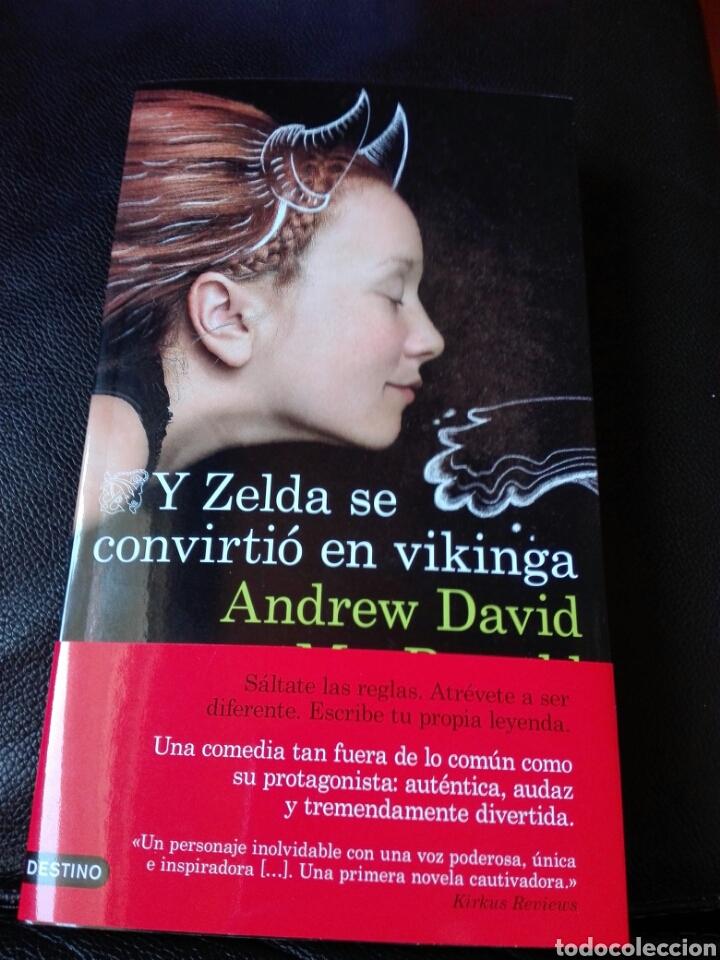 Libros: Y Zelda se convirtió en vikinga Andrew David. Nuevo - Foto 2 - 198321996