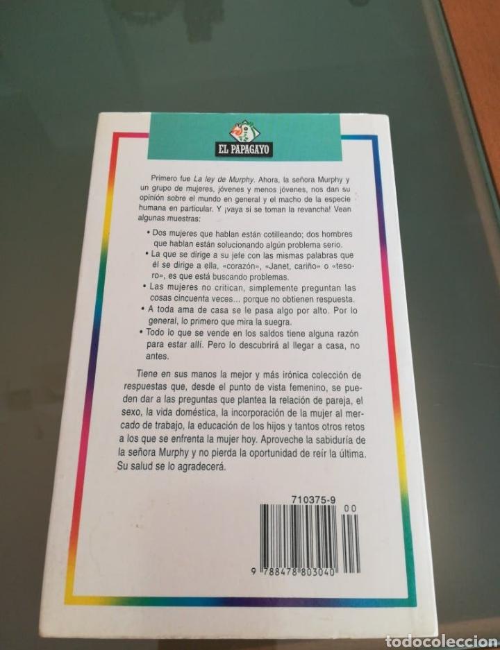 Libros: Libro La ley de la señora Murphy - Foto 2 - 198569982