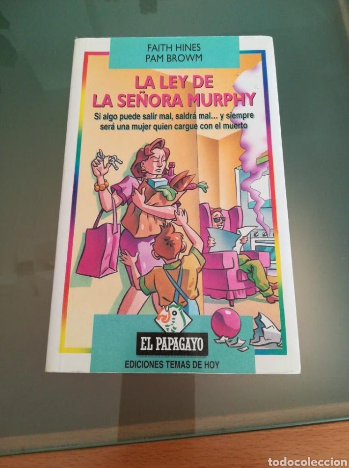 LIBRO LA LEY DE LA SEÑORA MURPHY (Libros Nuevos - Literatura - Narrativa - Humor)