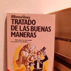 Libros: TRATADO DE LAS BIENAS MANERAS-ALFONSO USSIA. Lote 203046513