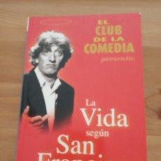 Libros: LIBRO LA VIDA SEGÚN SAN FRANCISCO. Lote 203879205
