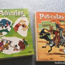 Libros: DOS LIBROS DE PELICULAS. WALT DISNEY. SEXTO Y SÉPTIMO TOMOS. COLECCION JOVIAL. TAPA DURA. Lote 208421148