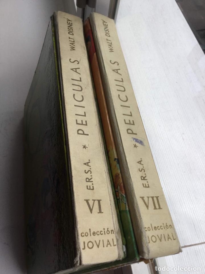 Libros: DOS LIBROS DE PELICULAS. WALT DISNEY. SEXTO Y SÉPTIMO TOMOS. COLECCION JOVIAL. TAPA DURA - Foto 3 - 208421148