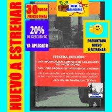 Libros: LOS RELATOS DEL PADRE BROWN - G. K. CHESTERTON - ACANTILADO - NUEVO A ESTRENAR - 30 EUROS FINAL. Lote 218014687
