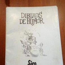 Libros: (CARPETA CON 20 LÁMINAS) -DIBUXOS DE HUMOR - SIRO -XAQUÍN MARIN - GALEGO -1985. Lote 218031080