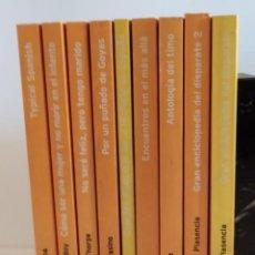"""Libros: COLECCIÓN """"HUMOR"""" TEMAS DE HOY 2003 - 9 TÍTULOS (TAPA NARANJA). Lote 219493212"""
