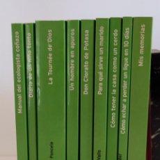 """Libros: COLECCIÓN """"HUMOR"""" TEMAS DE HOY 2003 - 9 TÍTULOS (TAPA VERDE). Lote 219494087"""