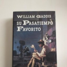 Libros: SU PASATIEMPO FAVORITO (HUMOR) - WILLIAM GADDIS - CÍRCULO DE LECTORES, 1996. Lote 221309710