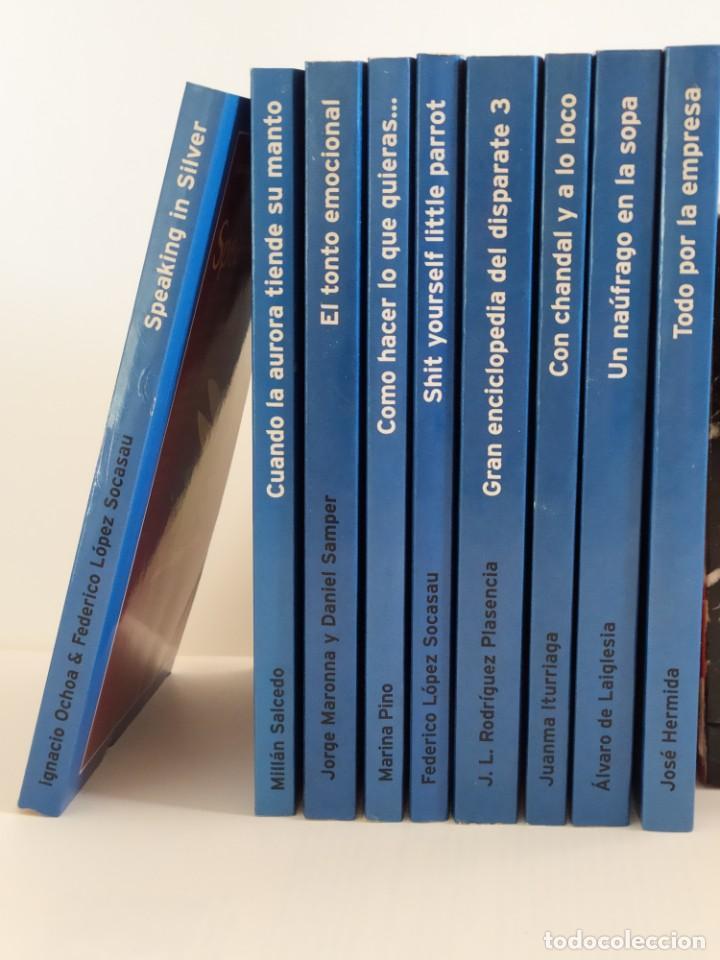 """Libros: Colección """"Humor """" 2003 - Colección completa de 27 libros - Ediciones Temas de Hoy - Foto 2 - 223986396"""