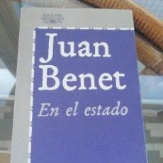 Libros: EN EL ESTADO DE JUAN BENET. Lote 225977920