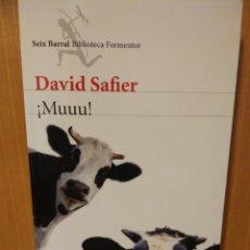 Libros: DAVID SAFIER. ¡MUUU!. SEIX BARRAL.. Lote 241506295